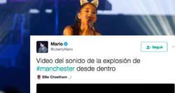 Enlace a El horror que se vivió en el concierto de Ariana grande tras la primera explosión, por @LibertyMario