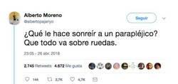 Enlace a Nos da una lección de humildad después de contar este chiste que a priori es ofensivo, por @albertopajariyo