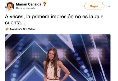 489870 - Esta niña de 13 años deja al jurado de America Got Talent con la boca abierta
