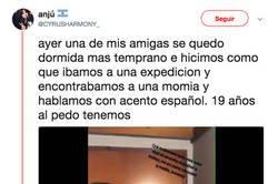 Enlace a Unas argentinas le gastan una broma a una amiga imitando el acento español y no se puede aguantar de lo gracioso que es
