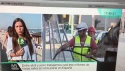 Enlace a Falta respeto y sobra machismo: El momento en el que la periodista de La Sexta Elizabeth López recibe un incómodo e inesperado beso en directo