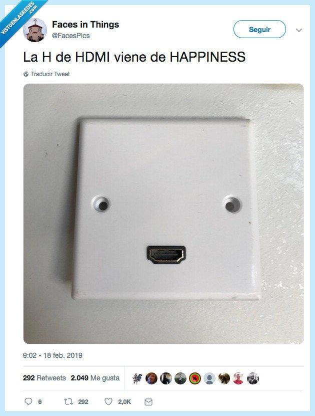 feliz,hdmi,ojala,ser
