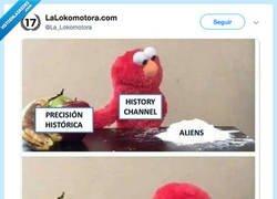 Enlace a Precisión histórica en el Canal Historia, por @La_Lokomotora