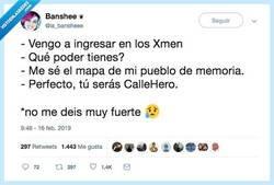 Enlace a CALLE HERO, pro @la_bansheee