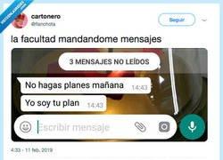 Enlace a El plan que siempre tengo, por @flanchota