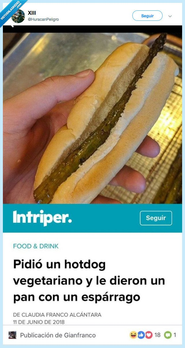 esparraguito caliente,hot dog,pan