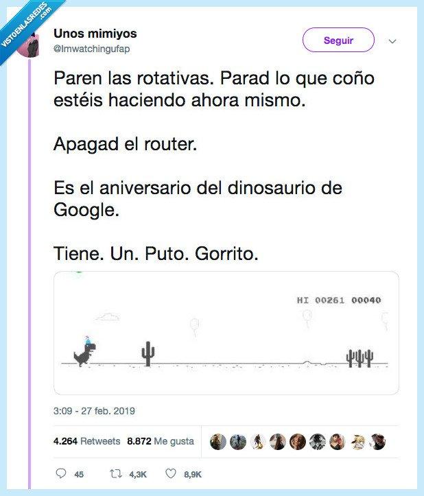 apagar,día,dinosario,router