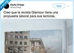 Enlace a La revista Glamour te enseña a ir mona mientras te explotan, por @EkaitzOrtega