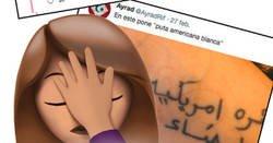 Enlace a Tatuajes en árabe que no ponen lo que debería de poner, por @AyradRif