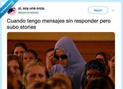 Enlace a Normalicemos no contestar un whatsapp y subir las historias que quieras por fa, por @quenormaltodo