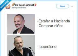 Enlace a Lo de Miguel Bosé es de traca, vamos... por @thequeercanibot