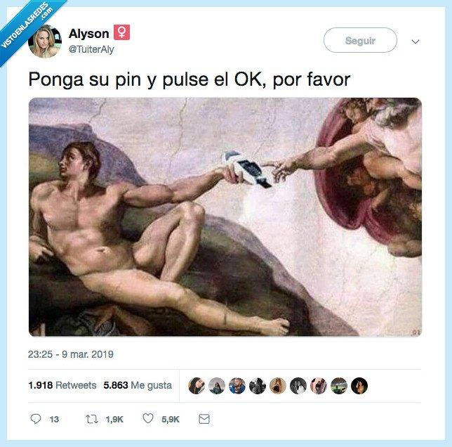 ok,pin,porfavor