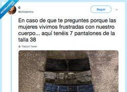 Enlace a 7 pantalones de la misma talla y ninguno son iguales, por @chloemmx