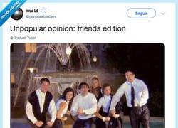 Enlace a Comparten sus unpopular opinion de Friends, por @purposebiebers