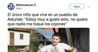 512506 - Este niño se ha pasado Twitter y la vida proclamándose el nuevo héroe de internet