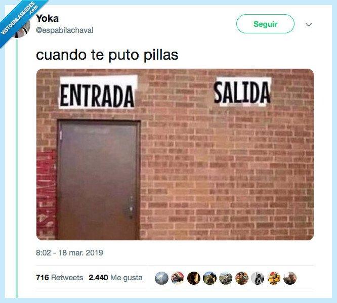 512629 - No puedes salir de ahi, por @espabilachavaI