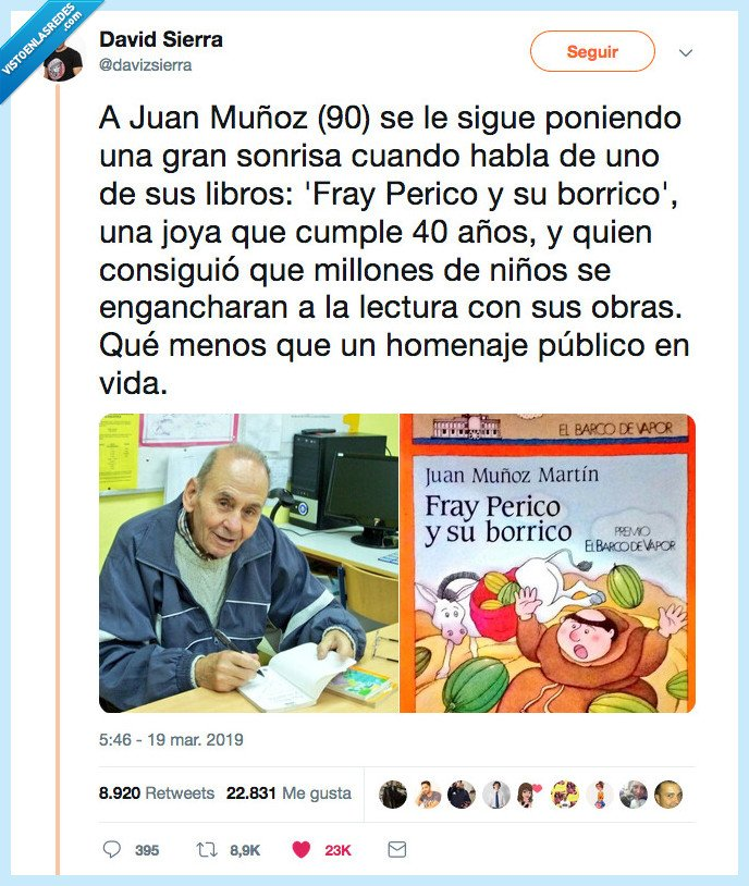 best seller,fray perico,juan muñoz