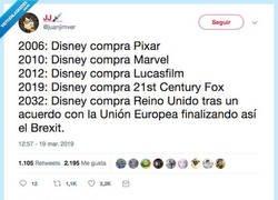Enlace a 2050: Disney compra Mercadona, por @juanjimver
