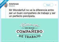 Enlace a HOW TO BE A PSICOPATA: Mr Wonderful te lo enseña, por @Serjfield