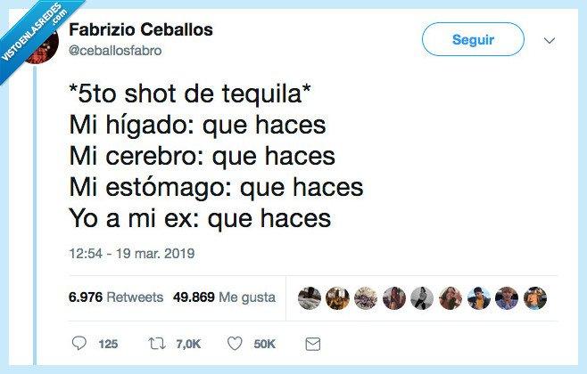 en serio que haces. tequila,que haces