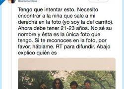 Enlace a Está buscando en Madrid a la niña que la cuidó en el orfanato, por @saracourdless