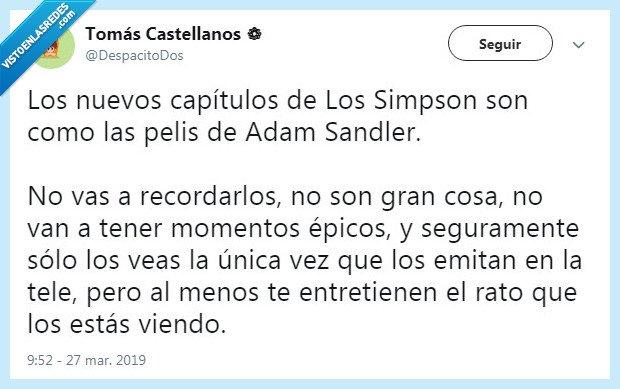 adam sandler,los simpsons,simpsons