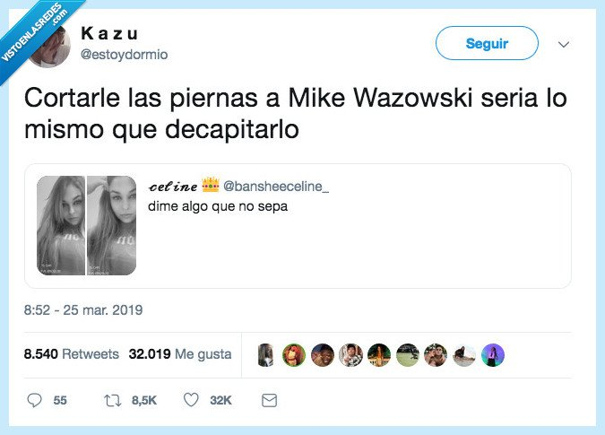 cortar,mike a wazowsky,piernas