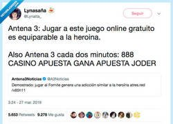 Enlace a La doble moral, por @Lynatta_