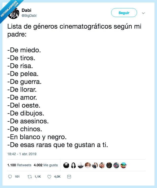 cine,género,padre