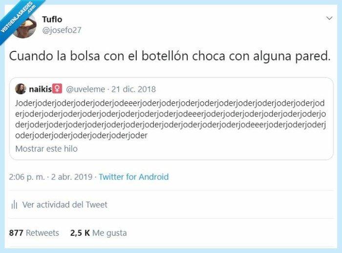 botellón,twitter