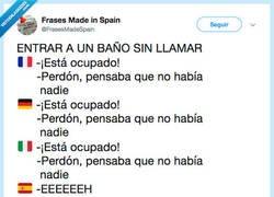 Enlace a En España nos entendemos con pocas palabras, por @FrasesMadeSpain