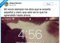 Enlace a Aprender español con tu novia ¿es una buena opción?, por @OrianaHF
