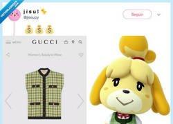 Enlace a Gucci está plagiando los diseños de sus prendas, por @jisoupy
