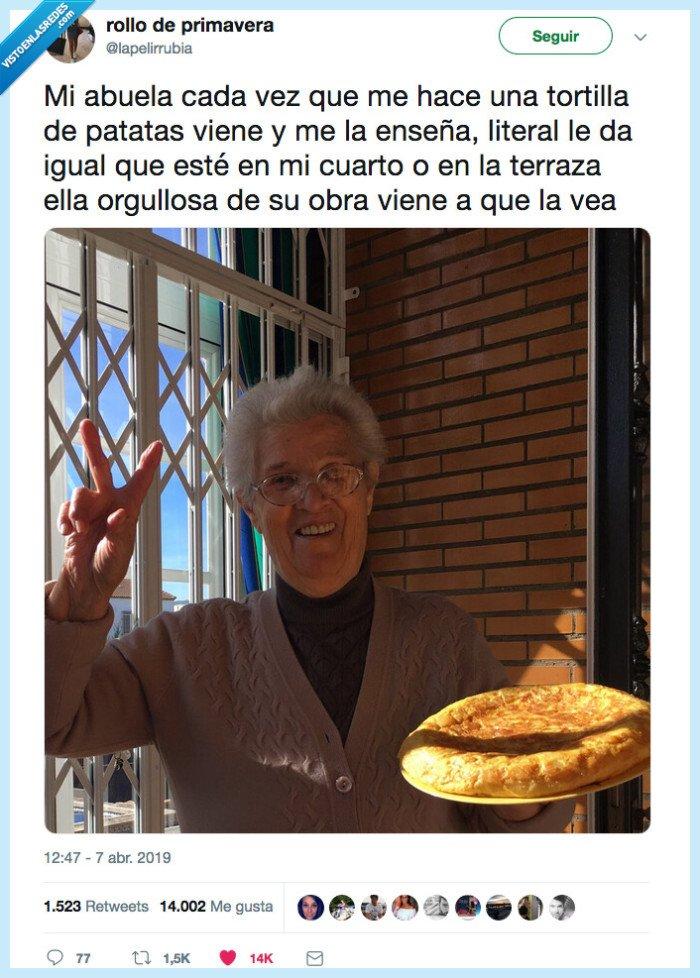 dar,ternura,tortilla,yaya