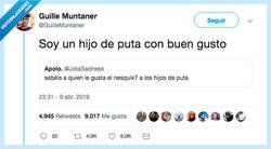 Enlace a No, no tienes buen gusto, por @GuilleMuntaner