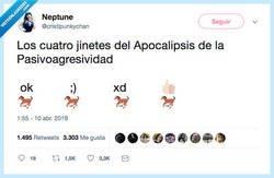 Enlace a El apocalipsis va a llegar, por @cristipunkychan