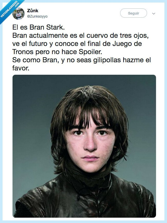 514814 - BE BRAN MY FRIEND, por @Zunksoyyo