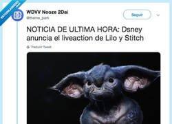 Enlace a Anuncian un liveaction de Lilo&Stitch y de verdad que parece de todo menos Stitch
