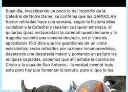 Enlace a La historia de las Gargolas de Notre Dame cuyo final no te creerás, por @pablo_morera