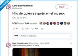 Enlace a QUIEN ES QUIEN: NOCHE EN EL MUSEO, por @listocomics