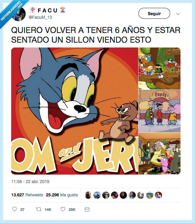 6 años,agallas,tom jerry