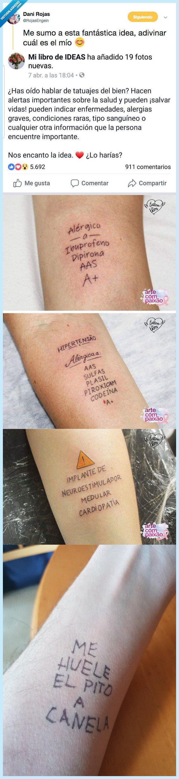salvar,tatuaje,vida