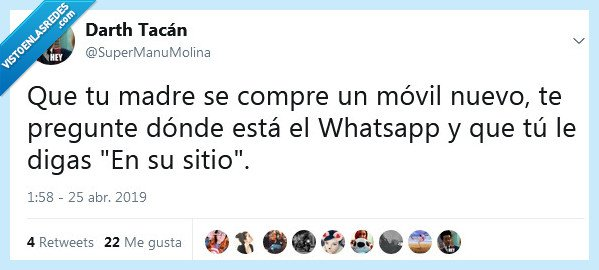 madre,móvil,whatsapp