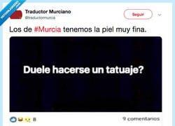 Enlace a Si eres de Murcia duele menos que si eres de Madrid, por @traductormurcia