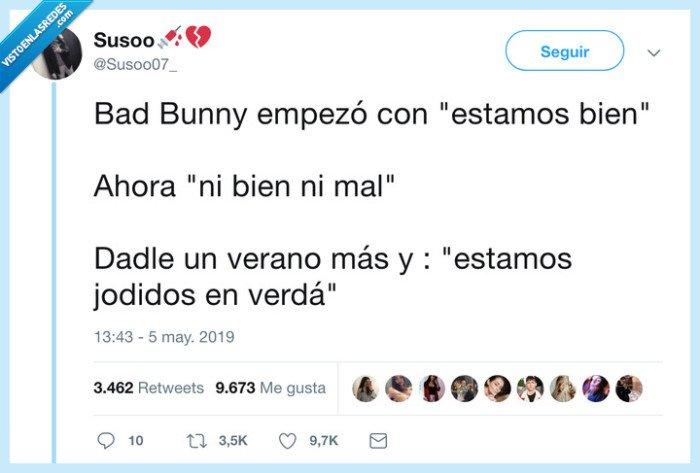 bad bunny,relación