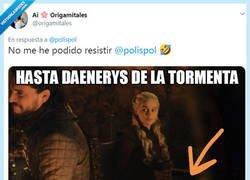 Enlace a Daenerys de la tormenta y los Lunes por @origamitales