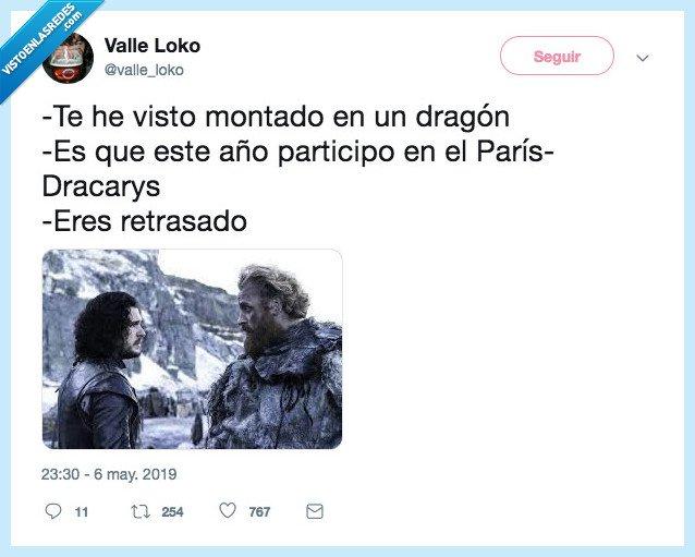dracarys,dragon,got,jon snow,juego de tronos,tormund