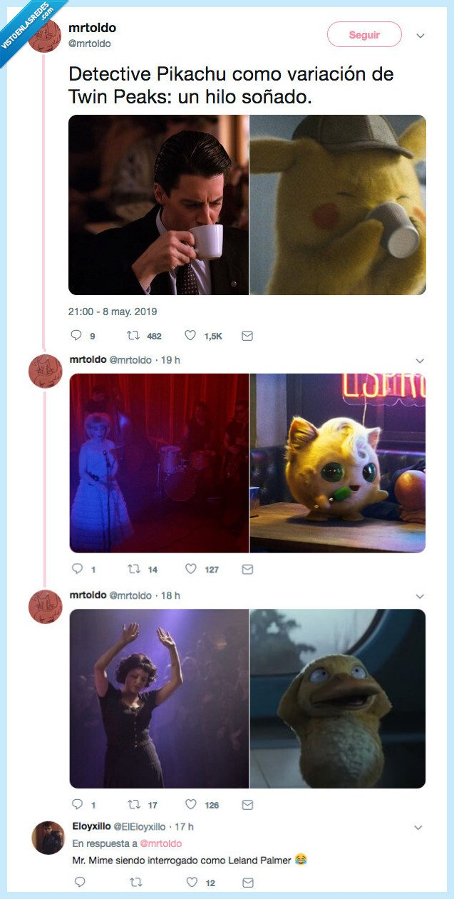 crossover,detective,pikachu,series,twin peaks