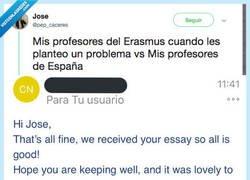 Enlace a Encuentra las 7 diferencias entre un profe de Erasmus y uno de aquí, por @pep_caceres