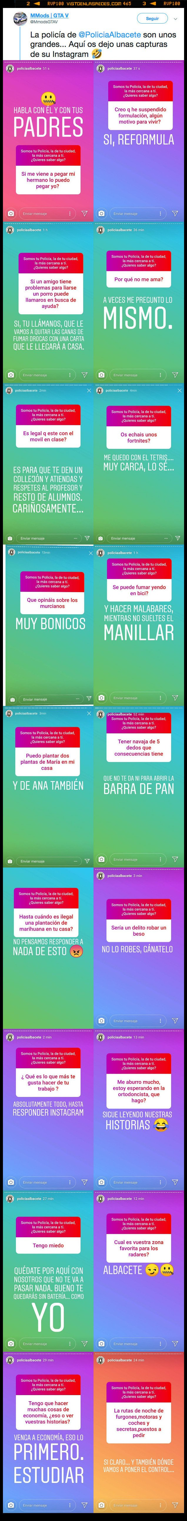 Albacete,Instagram,Policía,policía local,stories,Twitter